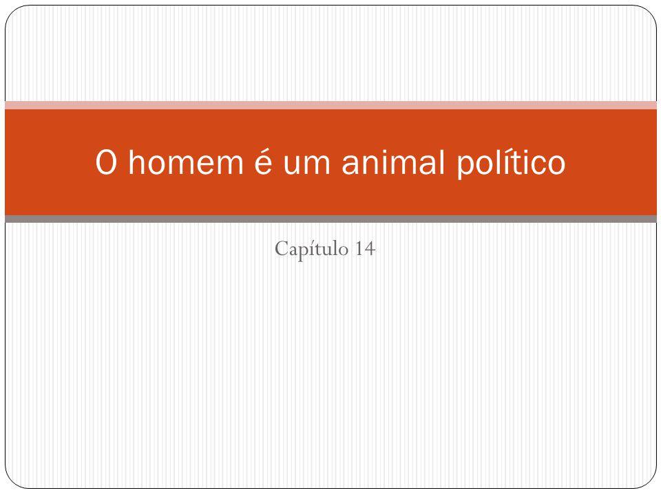 Capítulo 14 O homem é um animal político