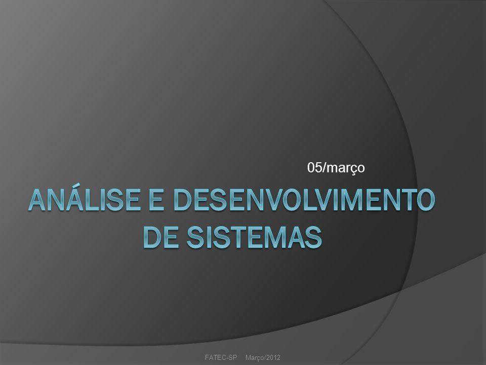 05/março FATEC-SP Março/2012
