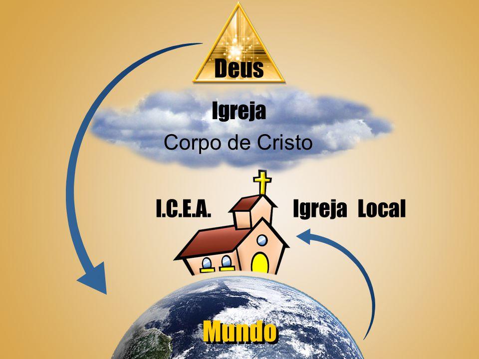 Deus Igreja Mundo Local Corpo de Cristo l.C.E.A.