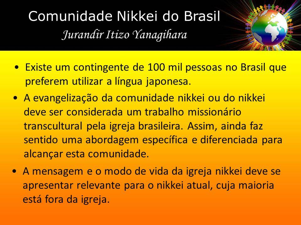 A evangelização da comunidade nikkei ou do nikkei deve ser considerada um trabalho missionário transcultural pela igreja brasileira. Assim, ainda faz