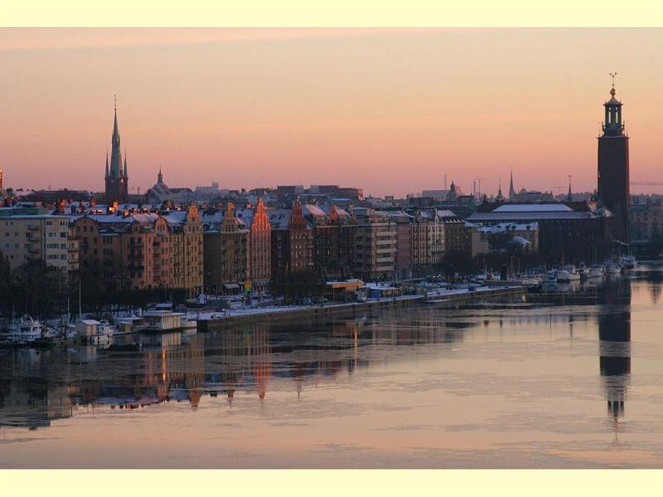 Estocolmo é a capital desde há 750 anos.