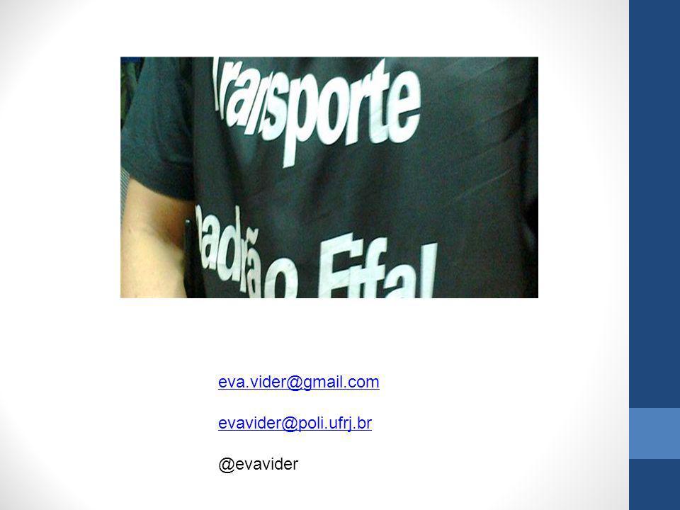 eva.vider@gmail.com evavider@poli.ufrj.br @evavider