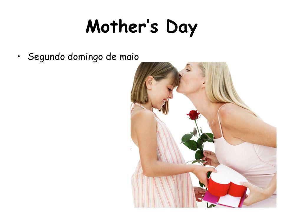 Mother's Day Segundo domingo de maio