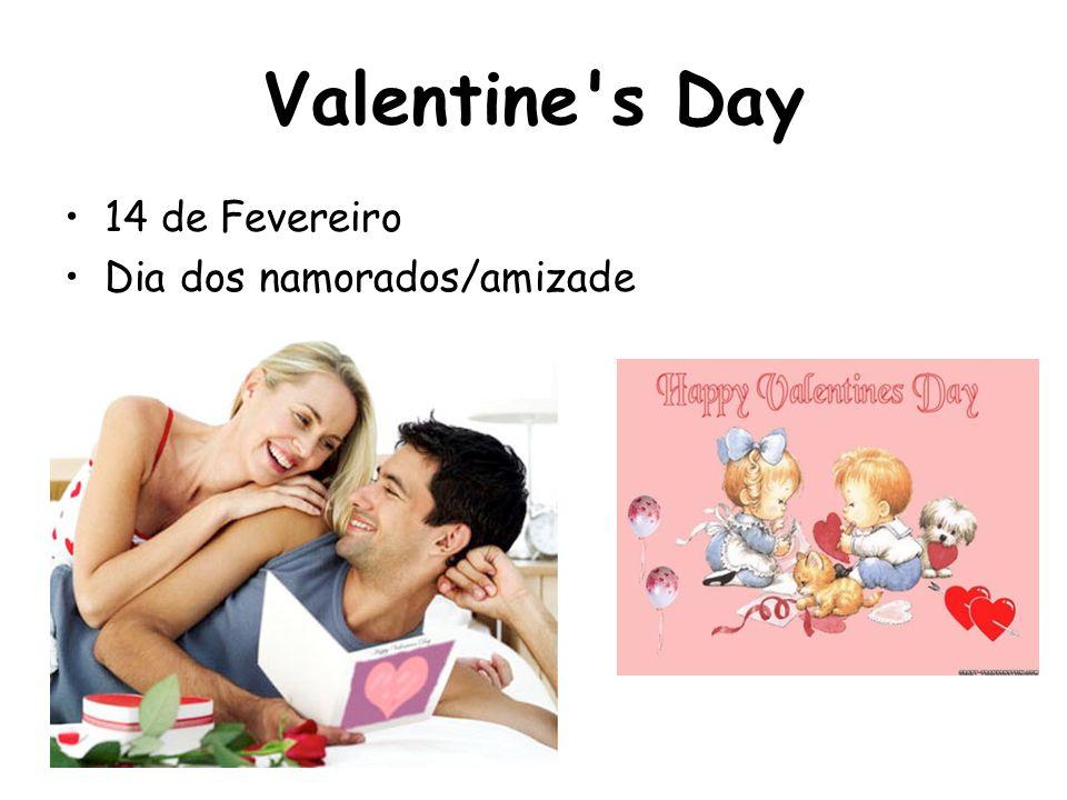 Valentine's Day 14 de Fevereiro Dia dos namorados/amizade