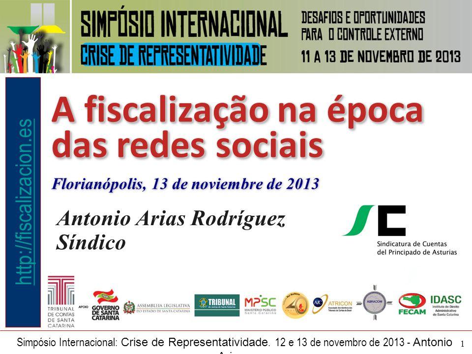 1 Simpósio Internacional: Crise de Representatividade.