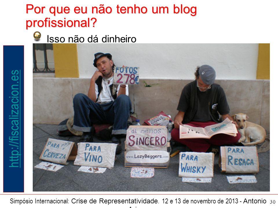 30 Simpósio Internacional: Crise de Representatividade.