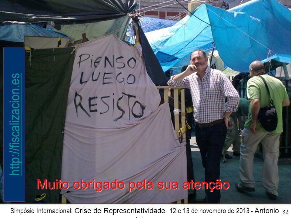 32 Simpósio Internacional: Crise de Representatividade.