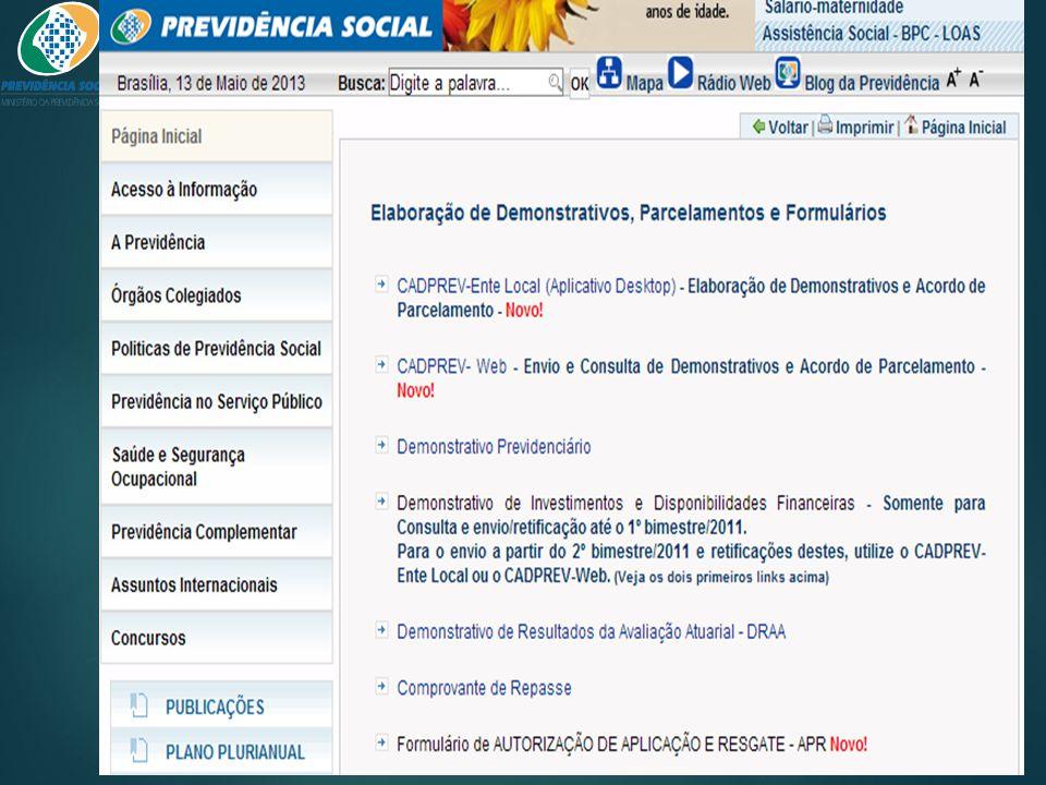 CADPREV – Ente Local (Desktop)