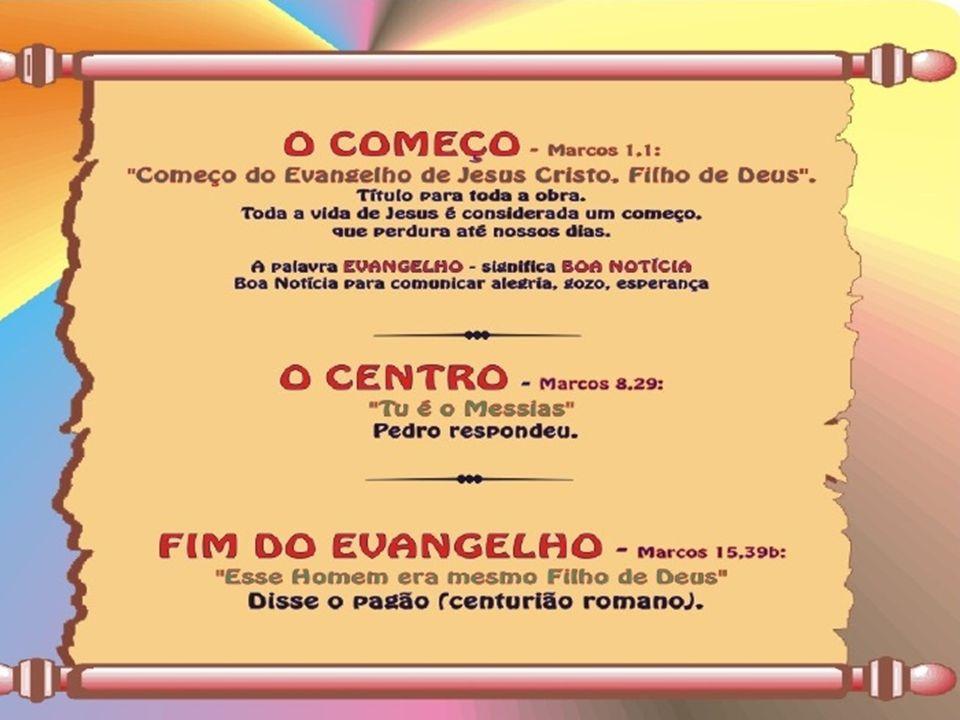 mesa A mesa como lugar sagrado (Mc 1,29-31; 2,15-16; 14,3.17-25; 16,14), pão falando de pão (Mc 2,23-26; 8,14-21), comida de comida (Mc 2,18-19; 7,1-23; 8,27-28), repartindo repartindo o pão (Mc 6,30-44; 8,1-9).