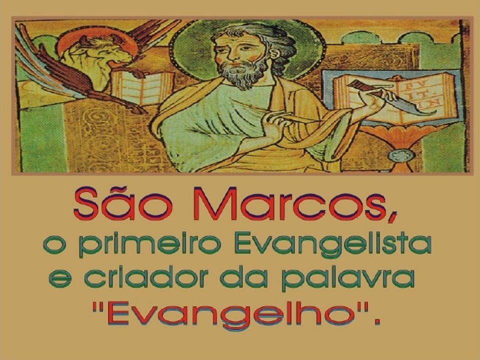 Curas ou sinais de Jesus narrados em Marcos MarcosMateusLucasJoão --------------- Junto à natureza -------------------------- ----------- Tempestade acalmada4,35-418,23-278,22-25 Primeira partilha dos pães6,30-4414,13-219,10-176,1-15 Caminhando sobres a água6,45-5214,22-33 6,16-21 Segunda partilha dos pães8,1-1015,32-39 Figueira infrutífera11,12-1421,18-22 ---------------- Junto a pessoas -------------------------- ----------- Doente possesso de Cafarnaum1,21-28 4,31-37 Sogra de Pedro1,29-318,14-154,38-39 Leproso1,40-458,2-45,12-16 Paralítico de Cafarnaum2,1-129,1-85,17-26 Mão atrofiada3,1-612,9-146,6-11 Doente mental possesso de Gerasa5,1-208,28-348,26-39 Reavivamento da filha de Jairo 5,21-24 5,35-43 9,18-19 9,23-26 8,40-42 8,49-56 Mulher com hemorragia5,25-349,20-228,43-48 Filha possessa da siro-fenícia7,24-3015,21-28 Surdo-mudo7,31-37 Cego de Betsaida8,22-26 Epiléptico possesso9,14-2917,14-219,37-43 Cego de Jericó10,46-5220,29-3418,35-43