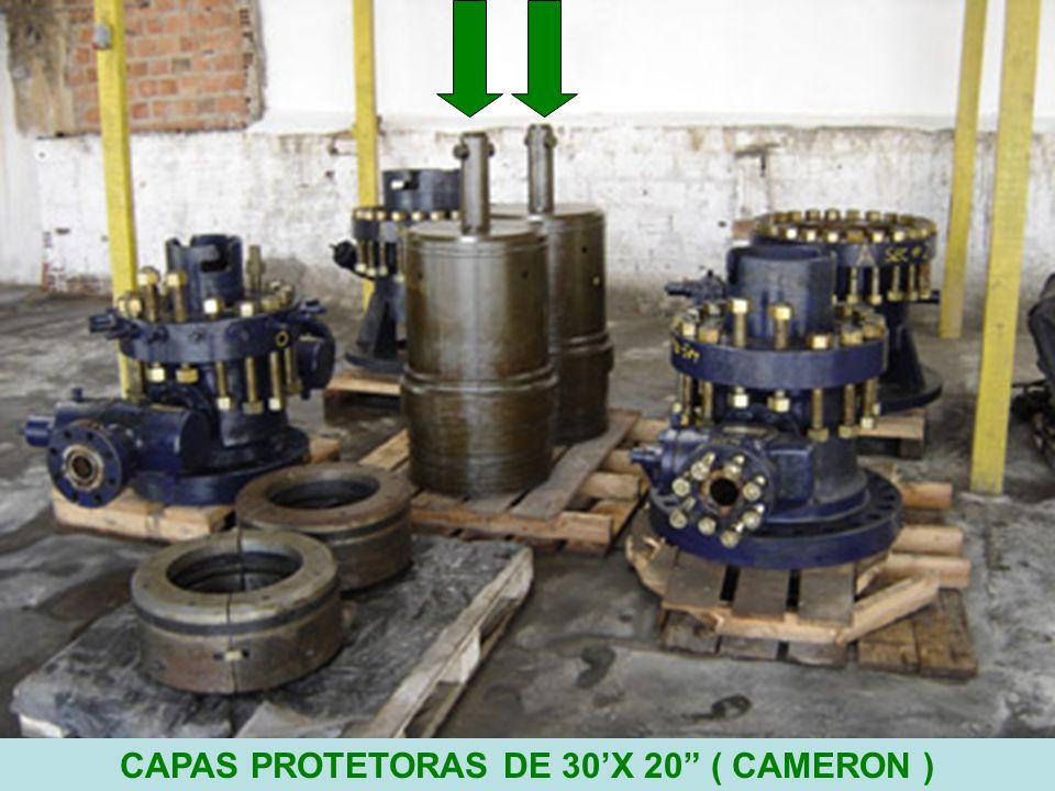 8 CAPAS PROTETORAS DE 30'X 20 ( CAMERON )