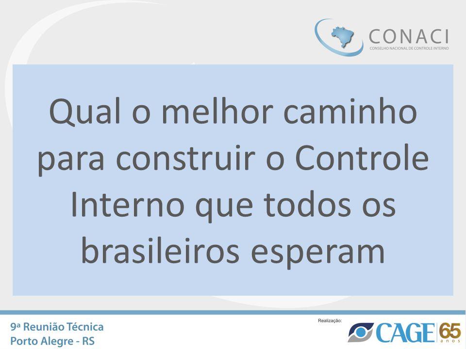 Qual o melhor caminho para construir o Controle Interno que todos os brasileiros esperam