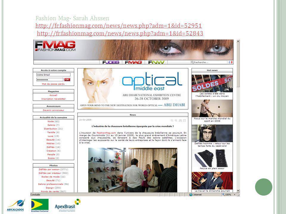 Fashion Mag- Sarah Ahssen http://fr.fashionmag.com/news/news.php adm=1&id=52951 http://fr.fashionmag.com/news/news.php adm=1&id=52843