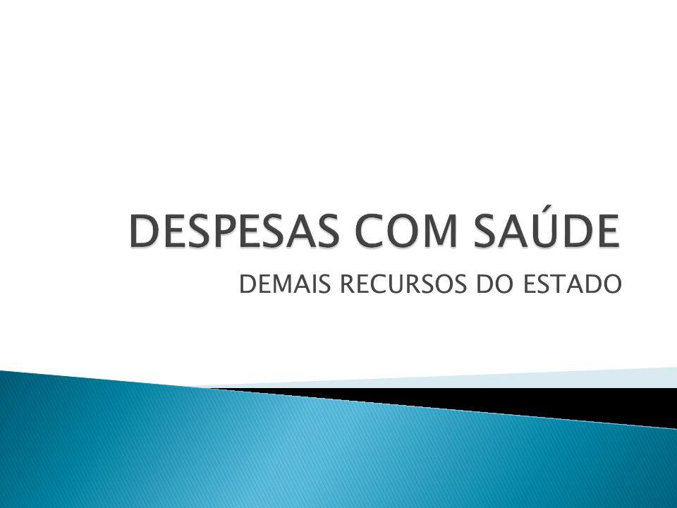 DEMAIS RECURSOS DO ESTADO