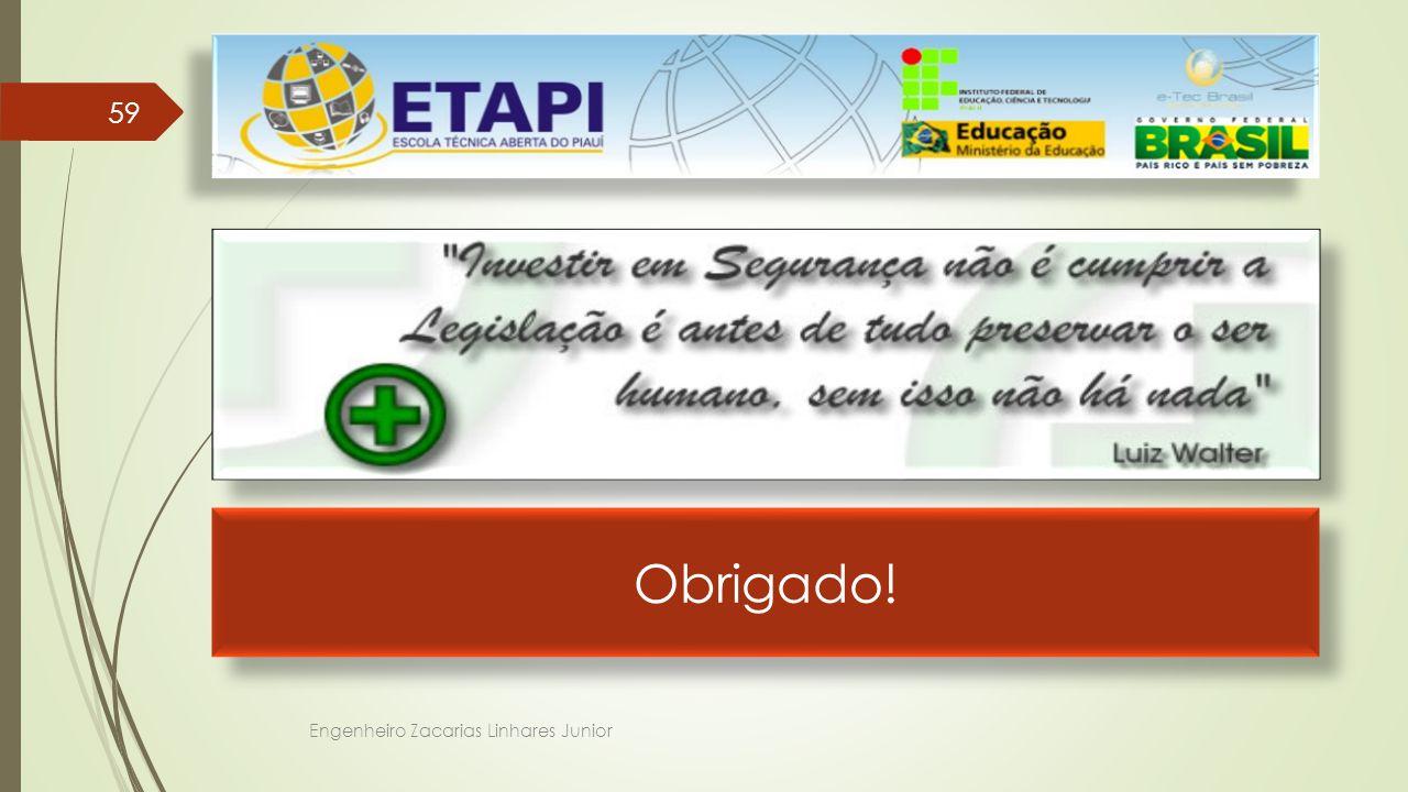 Obrigado! Engenheiro Zacarias Linhares Junior 59