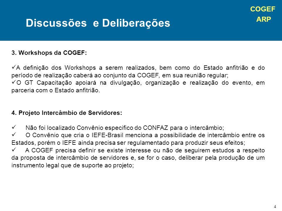 COGEF ARP 5 5.