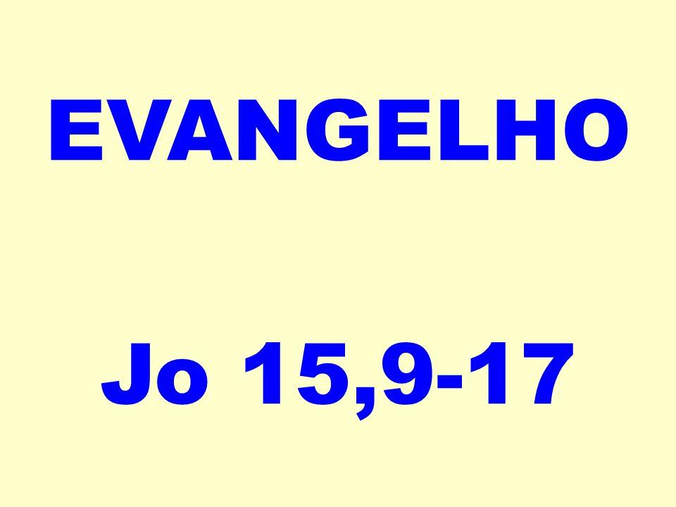 EVANGELHO Jo 15,9-17