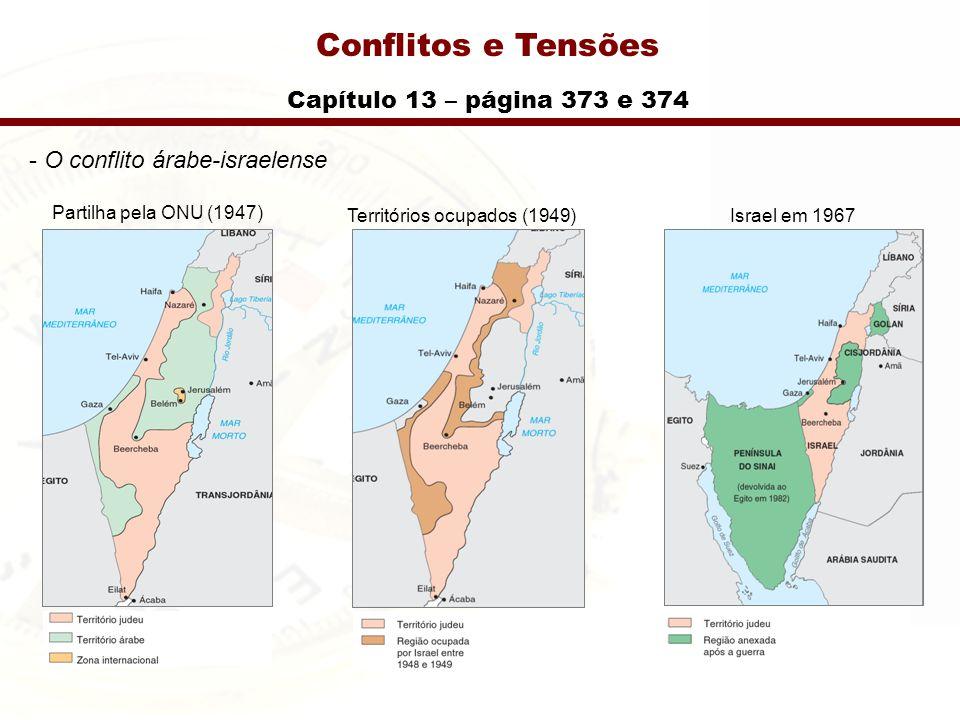 Para uso exclusivo de professores adotadores da Conflitos e Tensões Capítulo 13 – página 377 e 378 - Iraque
