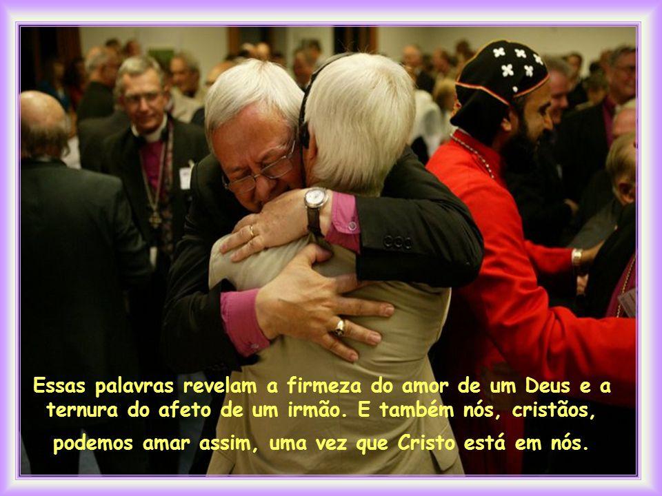 """""""Tendo amado os seus que estavam no mundo, amou-os até o fim """" (JH 13, 1)."""