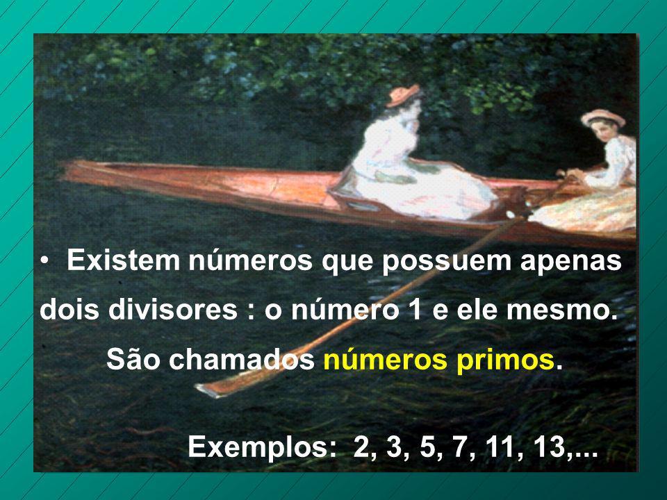 D(8) = 1, 2, 4, 8 D(9) = 1, 3, 9 D(10) = 1, 2, 5, 10 D(11) = 1, 11 D(12) = 1, 2, 3, 4, 6,12 D(13) = 1, 13 D(14) = 1, 2, 7, 14 Observando os divisores