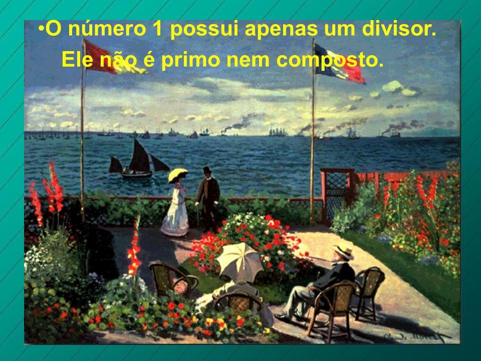 Existem números que possuem mais de dois divisores. São denominados números compostos. Exemplos: 4, 6, 8, 9, 10, 12, 14,...