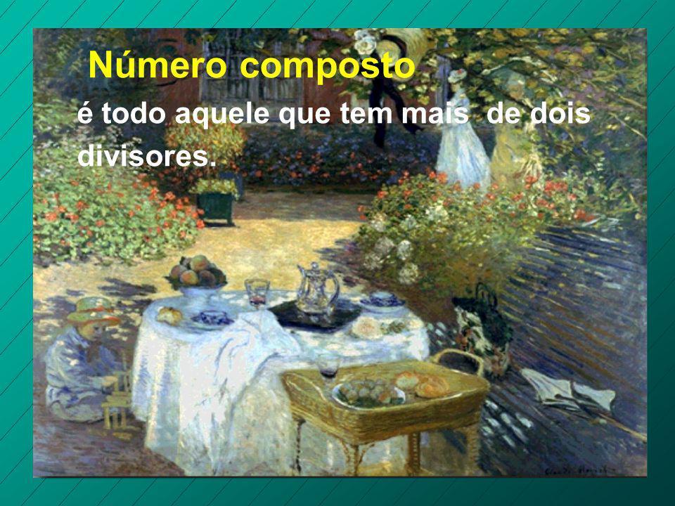 Número primo é um número natural com apenas dois divisores: o número 1 e ele mesmo.