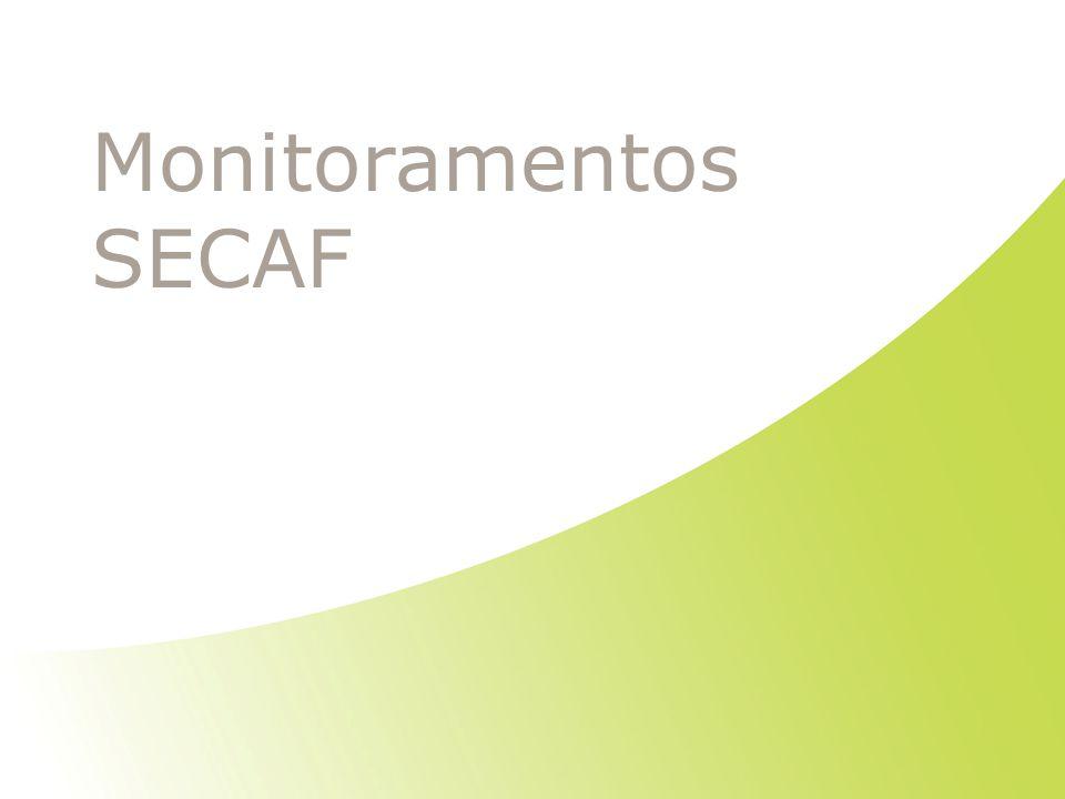 Monitoramentos SECAF