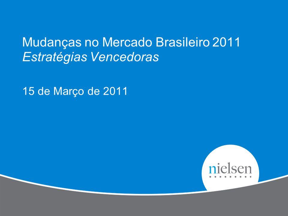 Mudanças no Mercado Brasileiro 2011 Estratégias Vencedoras 15 de Março de 2011