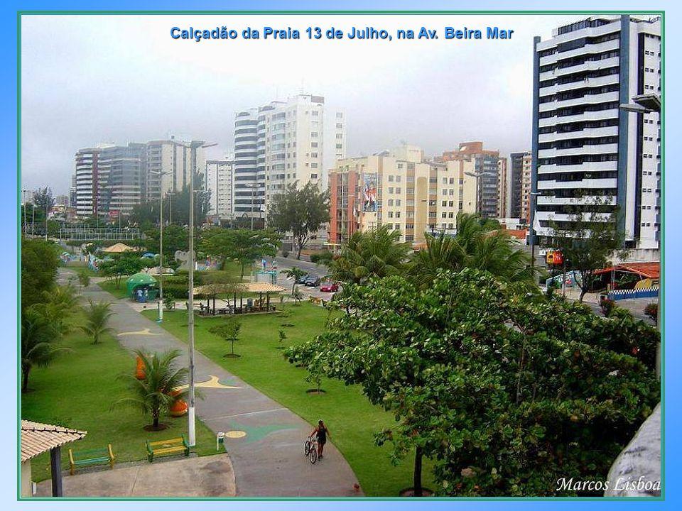 Início da Av. Beira Mar, frente ao Iate Clube – Bairro São José