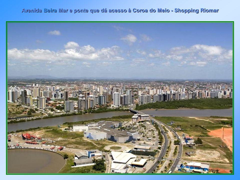 Panorâmica de Aracaju vista do Morro do Urubu no Bairro Industrial