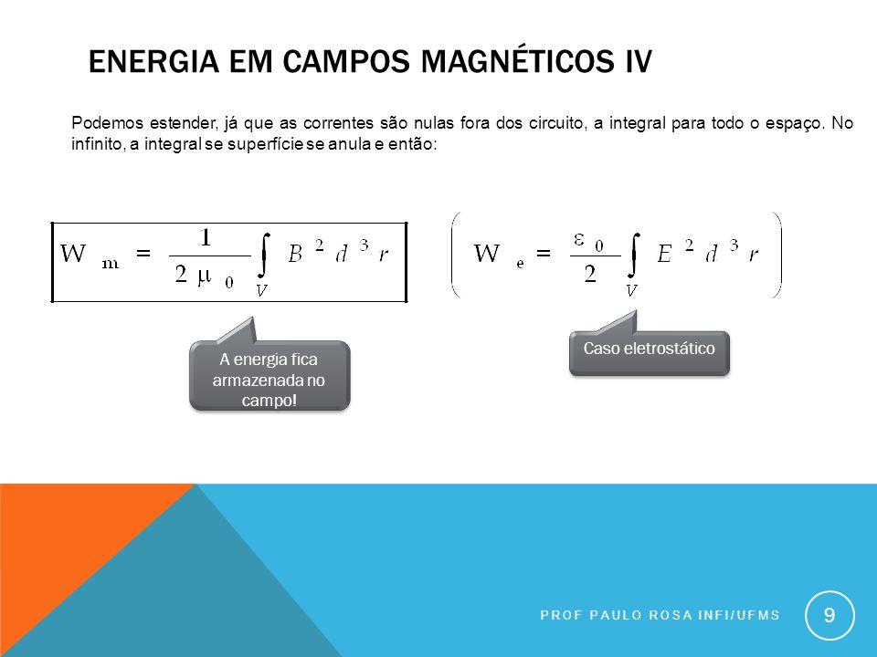 EQUAÇÕES DE MAXWELL PROF PAULO ROSA INFI/UFMS 10 Quando olhamos para as equações que temos agora, observamos uma inconsistência na lei de Ampére: Sempre.