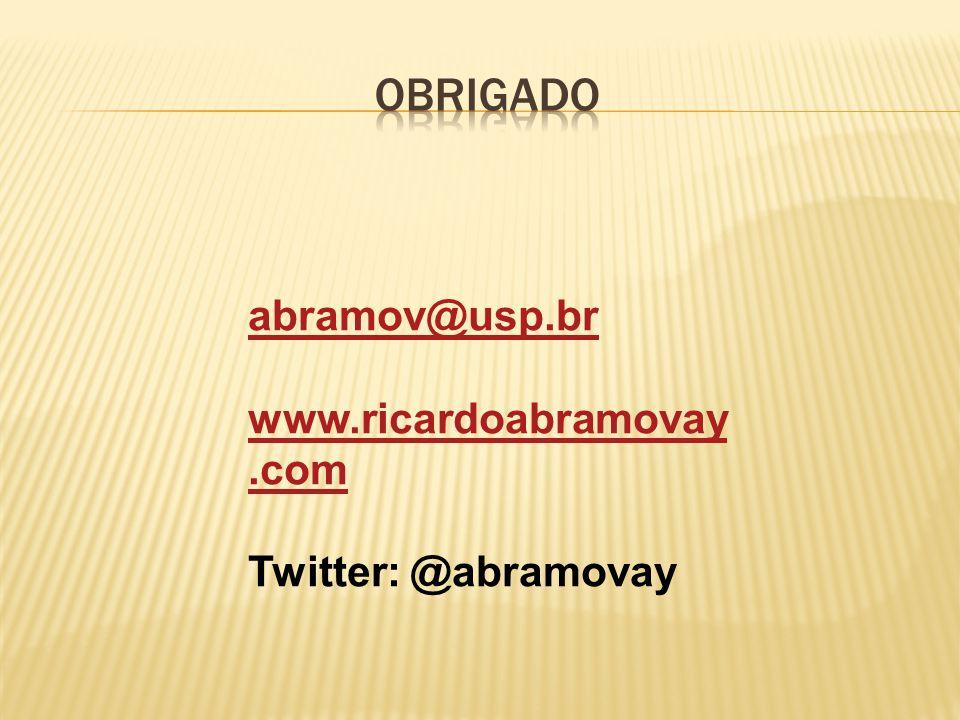 abramov@usp.br www.ricardoabramovay.com Twitter: @abramovay