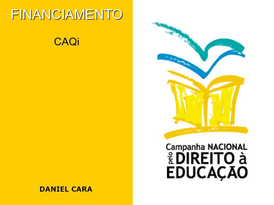 Caminhos para viabilização do CAQi 1.Exigência Legal – o mecanismo do CAQi está previsto em várias leis brasileiras (CF, LDB, PNE, LDB, Lei 11.494); 2.