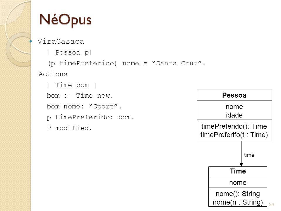 NéOpus ViraCasaca | Pessoa p| (p timePreferido) nome = Santa Cruz .