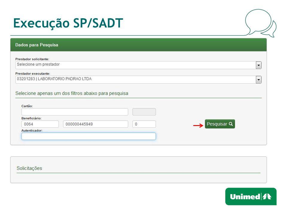 Execução SP/SADT