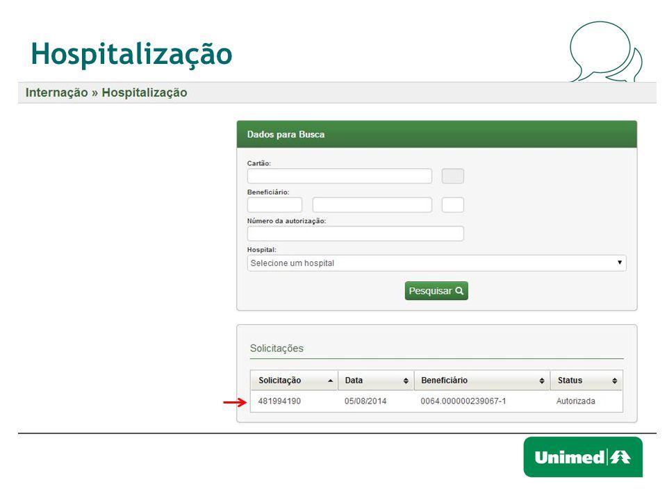 Hospitalização