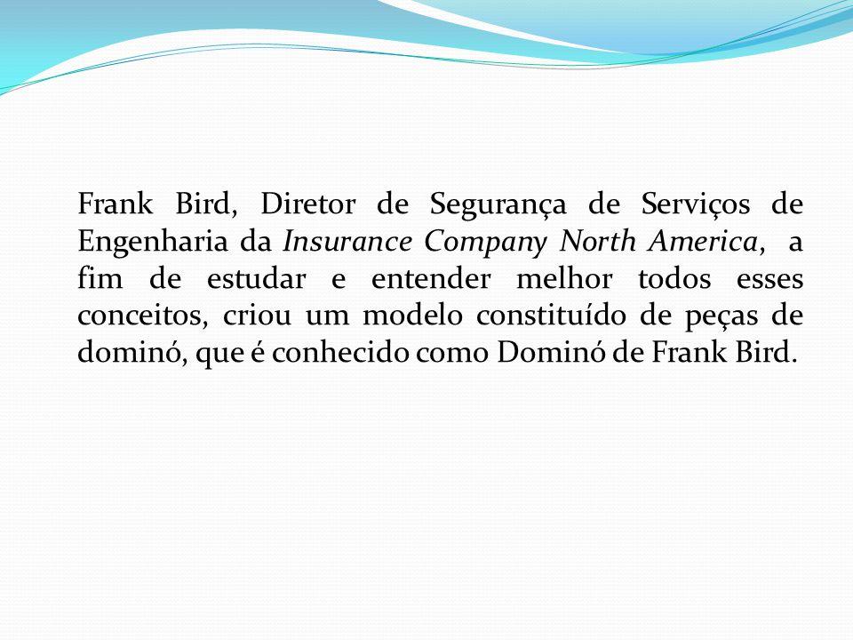 Frank Bird, Diretor de Segurança de Serviços de Engenharia da Insurance Company North America, a fim de estudar e entender melhor todos esses conceito