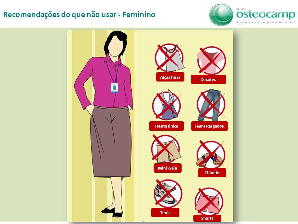 10 Chinelo Shorts Mini -Saia Jeans Rasgados Tênis Alças finas Frente única Decotes Recomendações do que não usar - Feminino