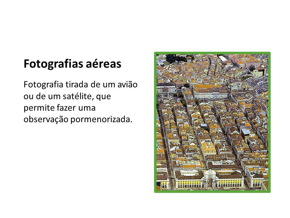 Ortofotomapas Mapas elaborados a partir de fotografias aéreas onde são corrigidas algumas distorções que estas podem conter.