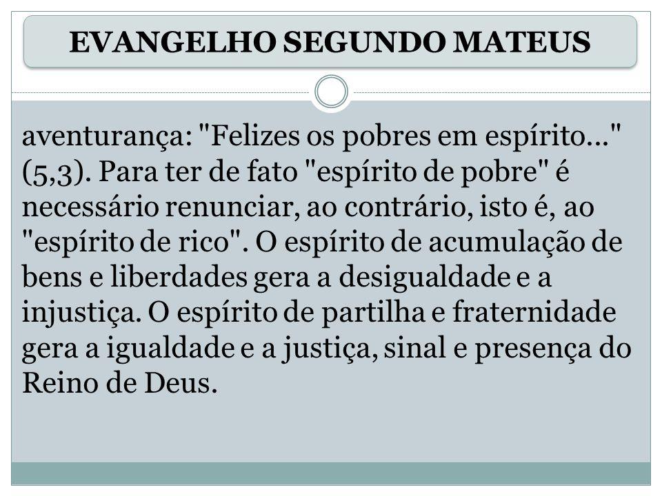 As dimensões da ação libertadora estão no tipo das coisas que Jesus faz: o leproso era um marginalizado.
