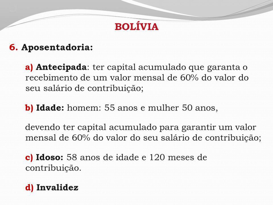 5 BOLÍVIA 6.