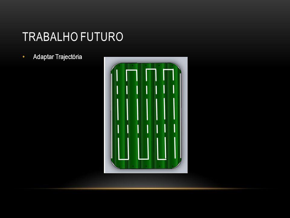TRABALHO FUTURO Adaptar Trajectória