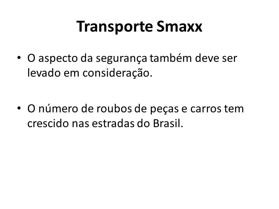 Transporte Smaxx O aspecto da segurança também deve ser levado em consideração.
