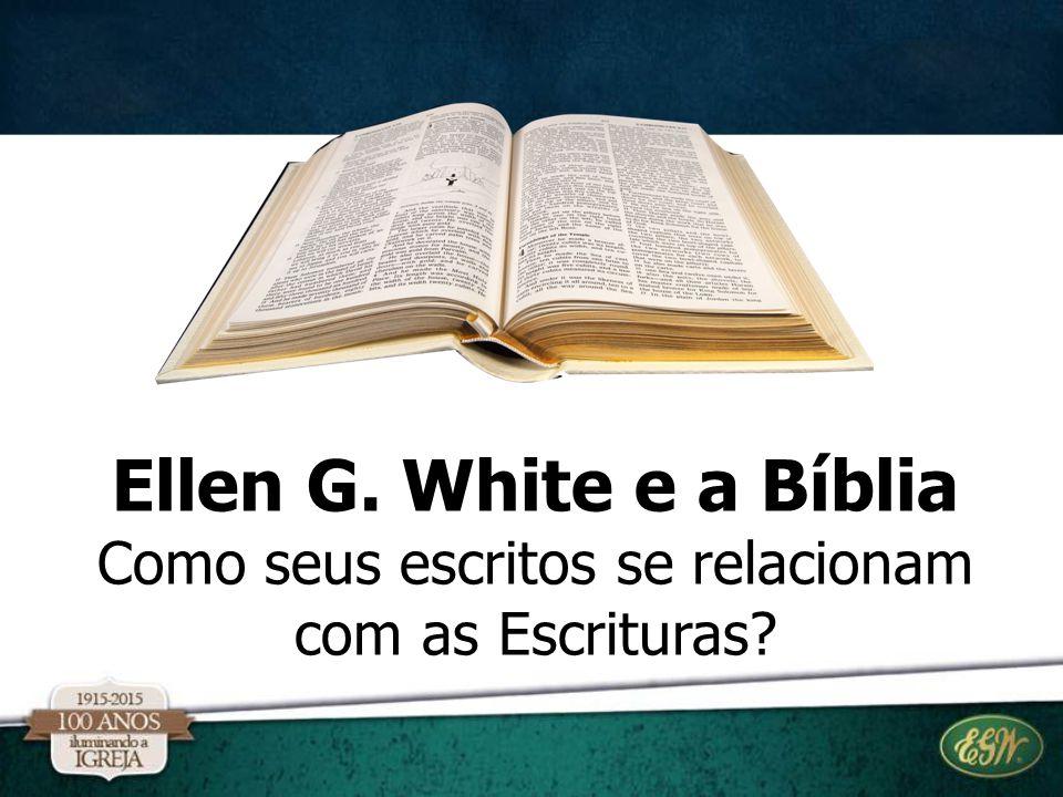 Como seus escritos se relacionam com as Escrituras?