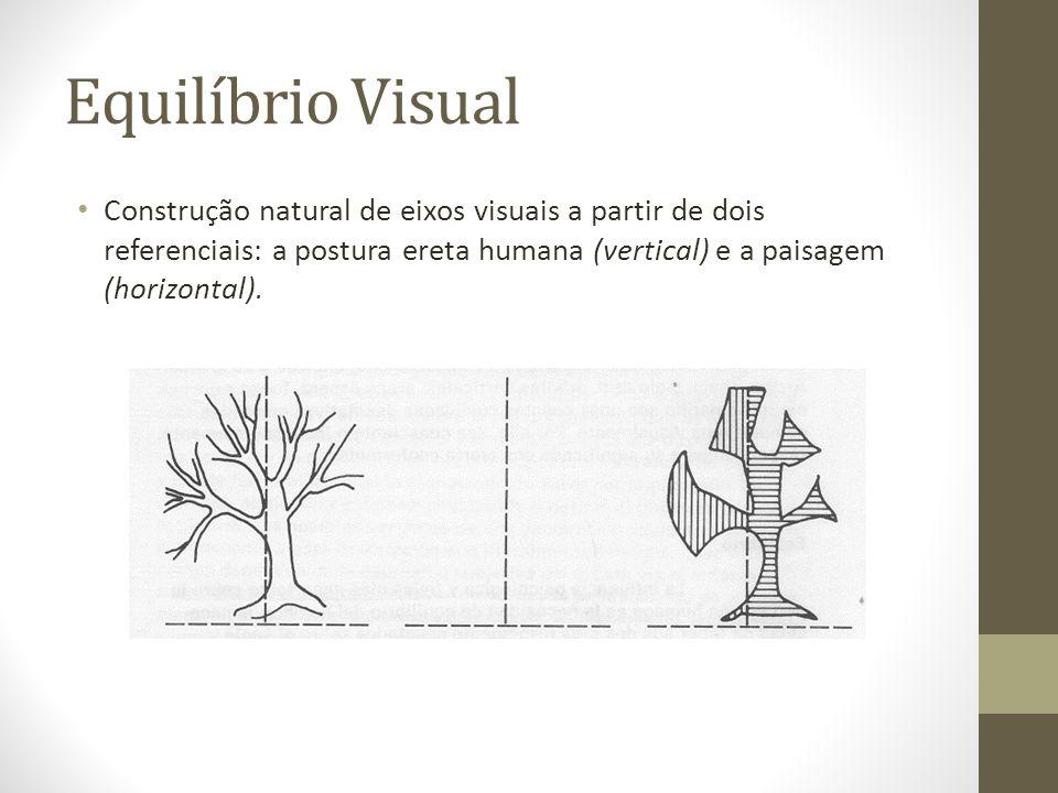 Equilíbrio Visual Referência mais forte e firme no ser humano. (Julgamento: Equilibrado )