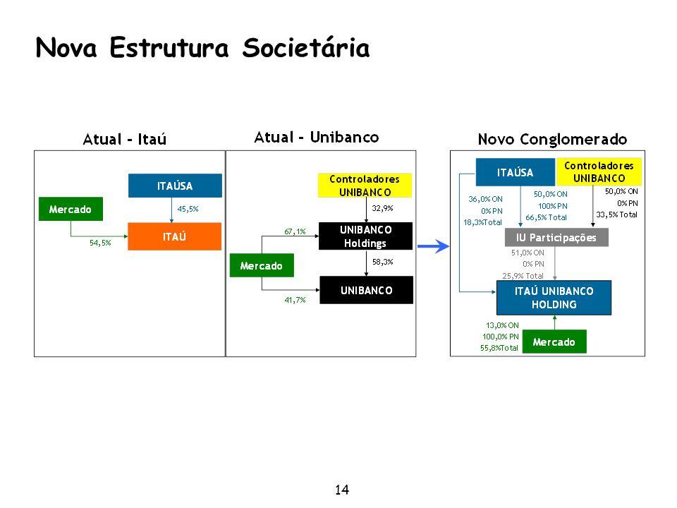 14 Nova Estrutura Societária