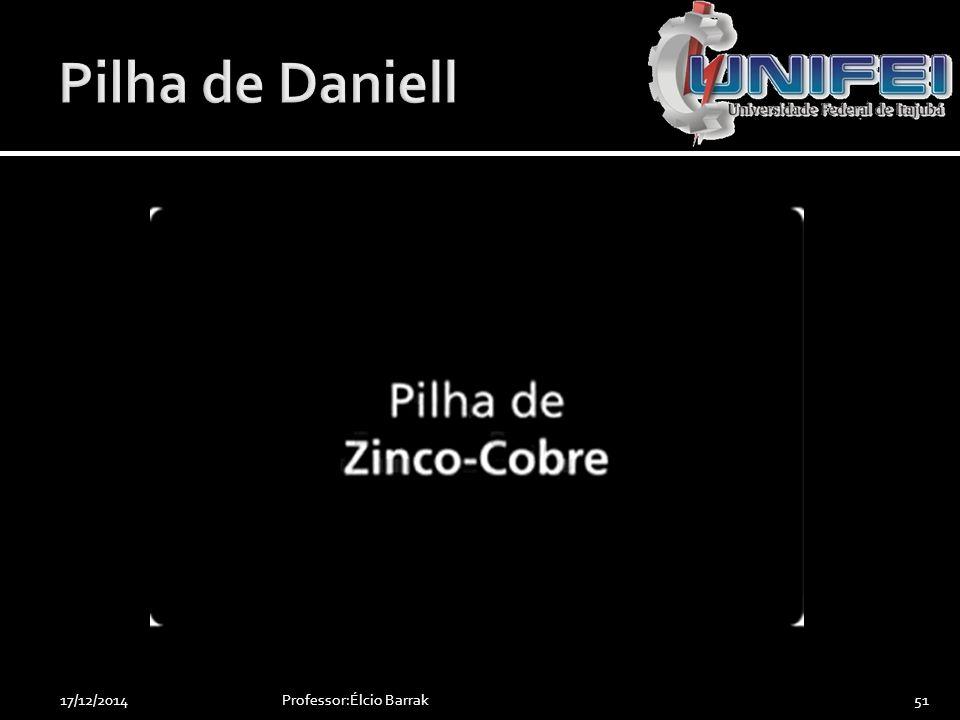 Professor:Élcio Barrak5117/12/2014