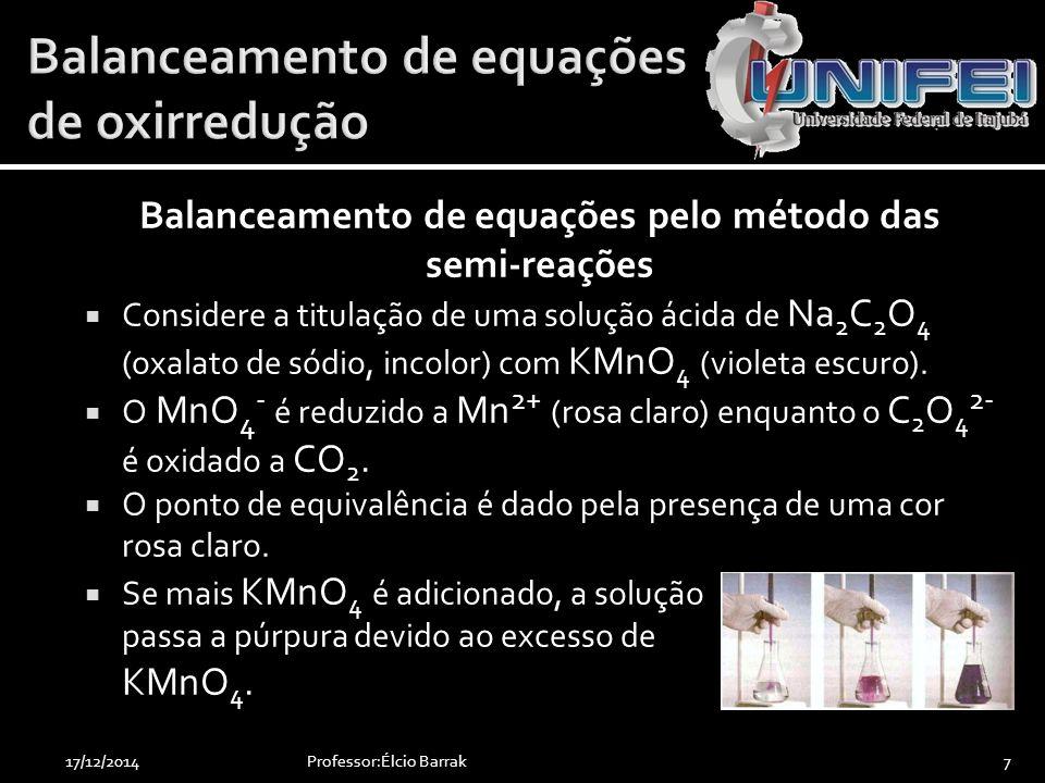  Tal dispositivo se configurava da seguinte forma:  Pilha de Volta Professor:Élcio Barrak4817/12/2014