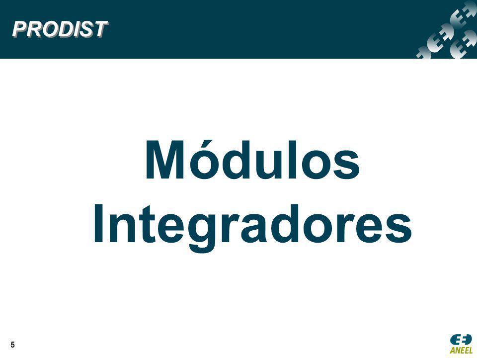 5 Módulos Integradores PRODIST