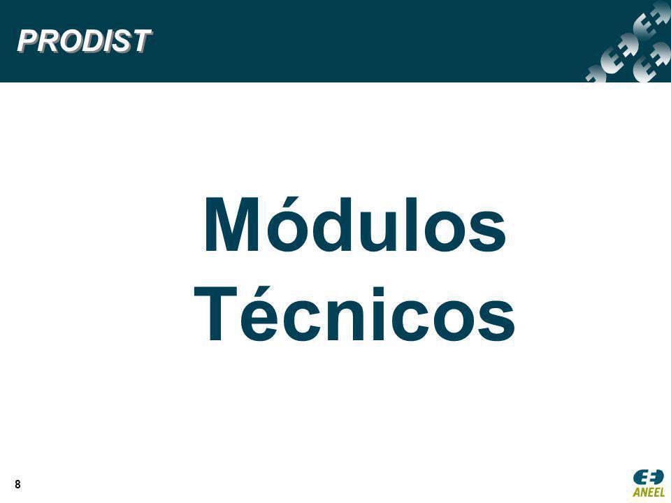8 Módulos Técnicos PRODIST